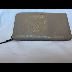Leather, tan Kate Spade New York Wallet
